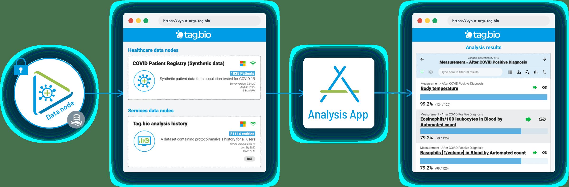Tag.bio data to analysis process simple