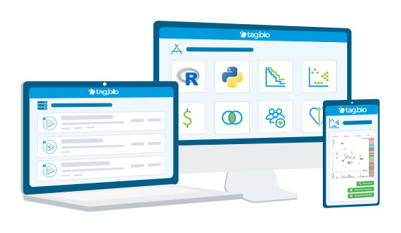Tag.bio enterprise features - convenient access from multiple devices
